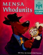 Cover of: Mensa whodunits | Bill Wise