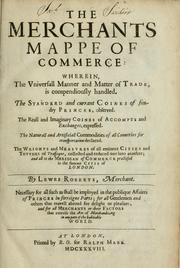 Cover of: The merchants mappe of commerce | Lewes Roberts