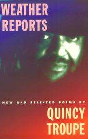 Cover of: Weather Reports | Quincy Troupe