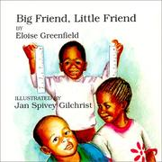 Cover of: Big Friend, Little Friend