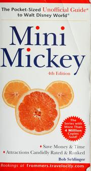 Cover of: Mini Mickey | Bob Sehlinger