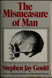 Cover of: The Mismeasure of Man