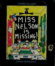 Cover of: Miss Nelson is missing! by Harry Allard