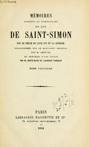 Cover of: Mémoires complets et authentiques | Saint-Simon, Louis de Rouvroy duc de