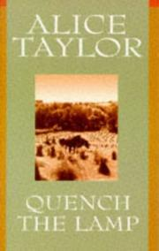 Cover of: Quench the lamp