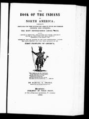 Cover of: The book of the Indians of North America |