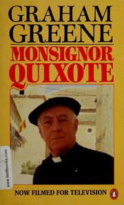Cover of: Monsignor Quixote by Graham Greene