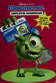 Monsters Inc Employee Handbook 2001 Edition Open Library