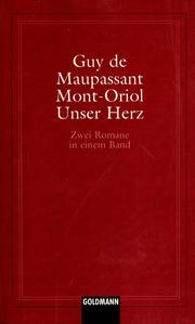 Cover of: Mont-Oriol