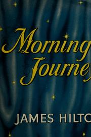 Cover of: Morning journey