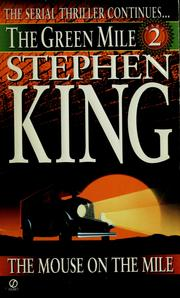 Cover of: The mouse on the mile | Stephen King