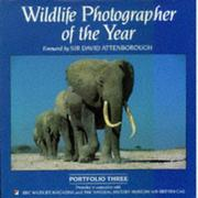 Cover of: Wildlife Photographer of the Year: Portfolio Three