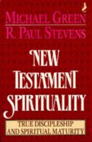 Cover of: New Testament Spirituality | Michael Green