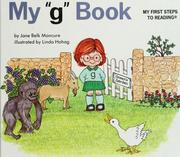 "Cover of: My ""g"" book by Jane Belk Moncure"