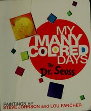 My many colored days (1998 edition) | Open Library