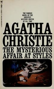 Cover of: The Mysterious Affair at Styles