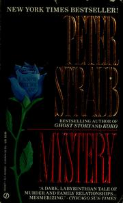 Cover of: Mystery | Peter Straub