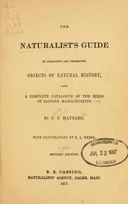 Cover of: naturalist