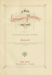 Cover of: A new library of poetry and song