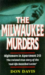 Cover of: The Milwaukee Murders