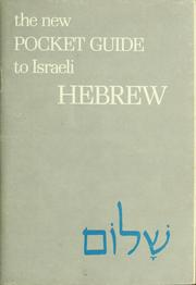 Cover of: The new pocket guide to Israeli Hebrew | Saadyah Maximon