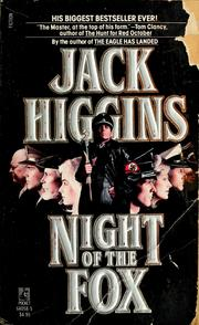 Cover of: Night of the fox | Jack Higgins