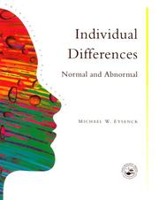 Cover of: Individual Differences | Univer College