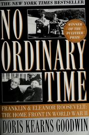 Cover of: No ordinary time | Doris Kearns Goodwin