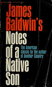 Cover of: Notes of a Native Son