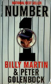 Cover of: Number 1 | Billy Martin
