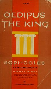 Cover of: Oedipus the King | Sophocles