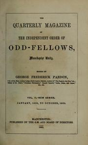 Cover of: Oddfellows