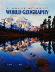 Cover of: Student Atlas of World Geography (Student Atlas) | John L. Allen