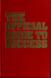 Cover of: The official guide to success by Tom Hopkins