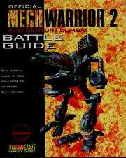 Cover of: Official mech warrior 2 | Blaine Pardoe