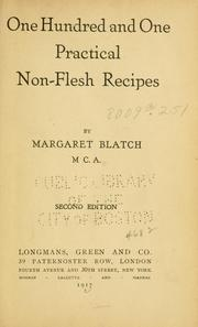 One hundred and one practical non-flesh recipes