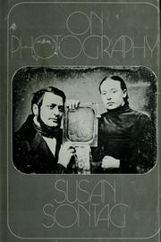 Cover of: On photography | Susan Sontag