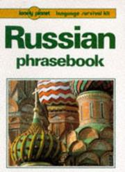 Cover of: Russian phrasebook | James Jenkin