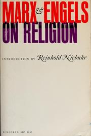 Cover of: On religion | Karl Marx