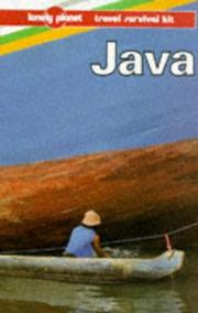 Cover of: Lonely Planet Java (1st ed) | Peter Turner