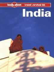 Cover of: Lonely Planet India