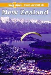Cover of: Lonely Planet New Zealand | Peter Turner