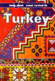 Cover of: Lonely Planet Turkey | Tom Brosnahan