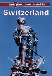 Cover of: Lonely Planet Switzerland | Mark Honan