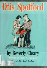 Cover of: Otis Spofford | Beverly Cleary