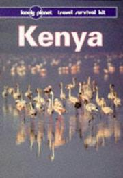 Cover of: Lonely Planet Kenya | Hugh Finlay, Geoff Crowther