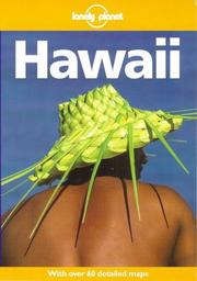 Cover of: Lonely Planet Hawaii (4th ed) | Glenda Bendure