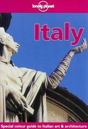 Cover of: Lonely Planet Italy | Helen Gillman