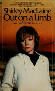 Cover of: Out on a limb | Shirley MacLaine