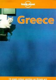 Cover of: Lonely Planet Greece (3rd ed) | David Willett